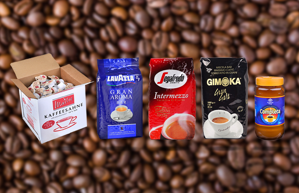 Koffie assortiment